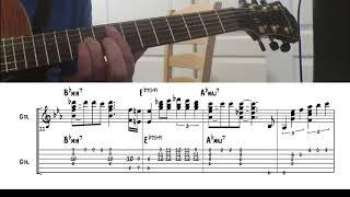 Misty  - Guitar Lesson