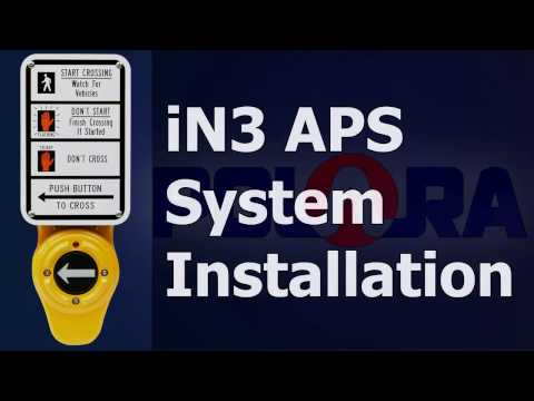IN3 APS System Installation   IN3 Button