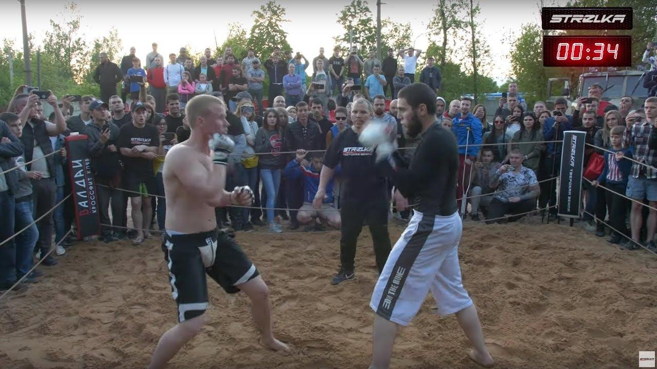 БОРОДАЧ БОКСЕР против Бойца ММА !!! Отличный бой !!!!