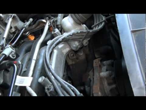 FORD 46 , 54 , 68, HEATER HOSE UNDER INTAKE REPLACEMENT THE EASY