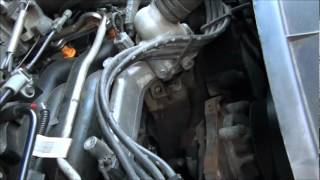 FORD 4.6 , 5.4 , 6.8, HEATER HOSE UNDER INTAKE REPLACEMENT THE EASY WAY !!!