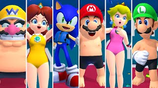 Mario & Sonic at the Tokyo 2020 Olympic Games - Swimming (All Characters)