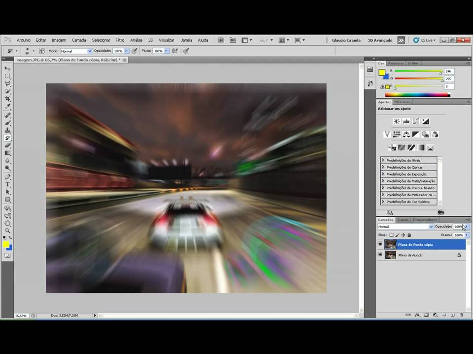 Efeito speed zoom na foto photoshop hd youtube efeito speed zoom na foto photoshop hd ccuart Image collections