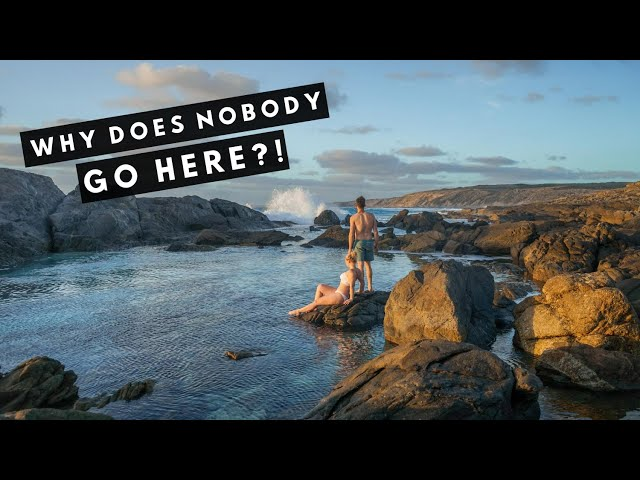 Why Does Nobody Travel Here?! | BEST ROCKPOOLS in South Australia