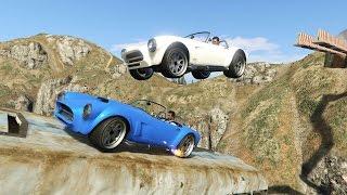 Крутые паркур гонки на машинах и гидроциклах c рампами   [Гонки в GTA 5 Online](Сегодня мы пройдём паркур гонки на машинах, гидроциклах и ещё какую-то странную гонку. Каналы друзей: Oxygen1um..., 2016-06-06T16:34:54.000Z)