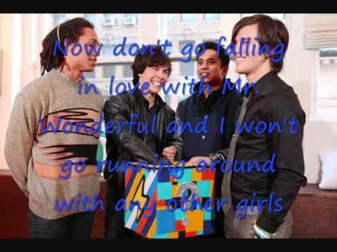 Mr. Wonderful Lyrics- Allstar Weekend
