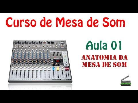 Aula 01 - Mesa de som, o que ela faz?