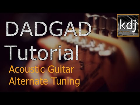 DADGAD Tutorial - Acoustic Guitar Alternate Tuning