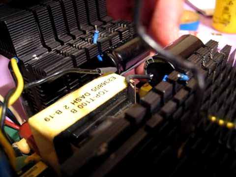 How to easily repair a PSU -PART 2- By:NSC - YouTube