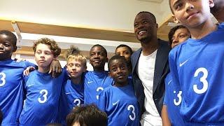 Evra et Martial de retour aux Ulis avant l'Euro 2016 !