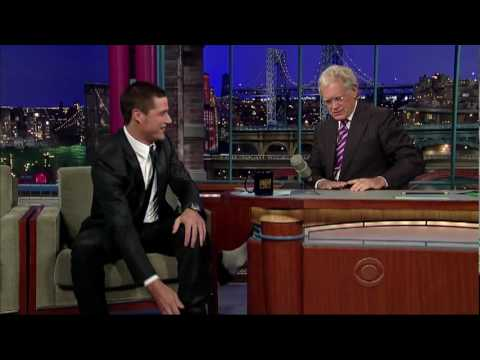 Matthew Fox on David Letterman