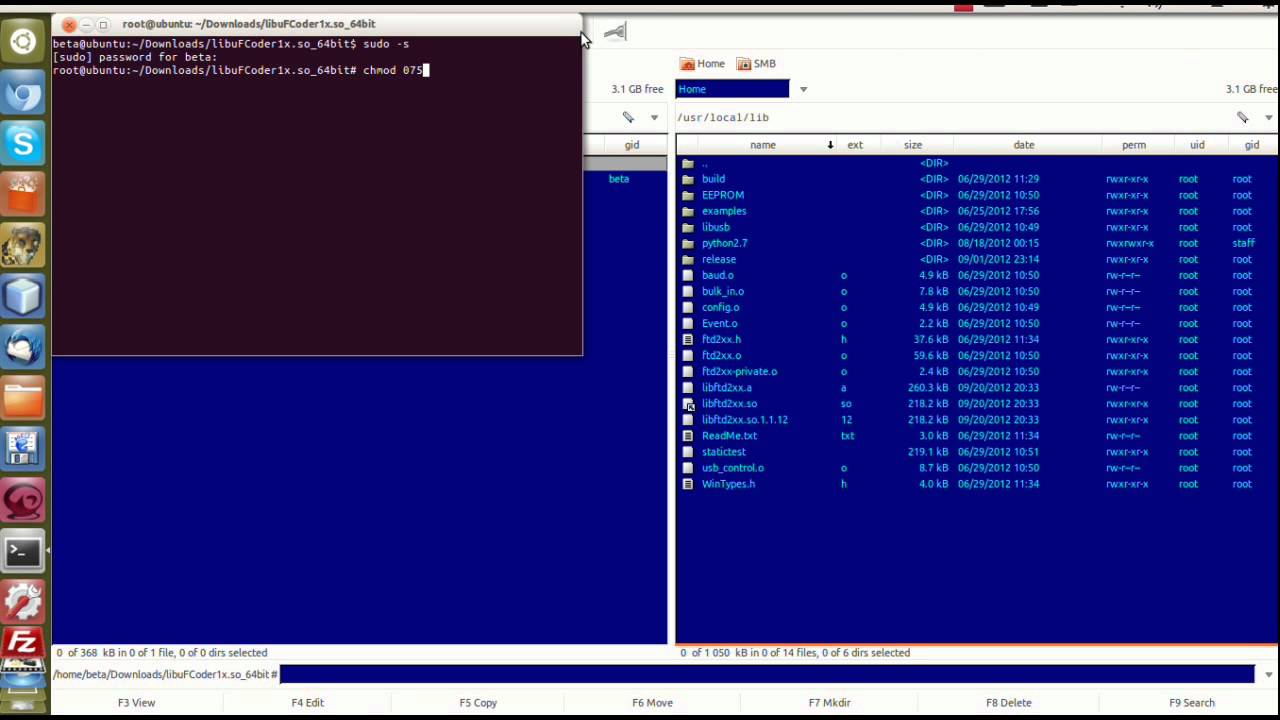 Install SO library for uFR Mifare RFID Reader/Writer by D-Logic - Linux  Ubuntu 64-bit