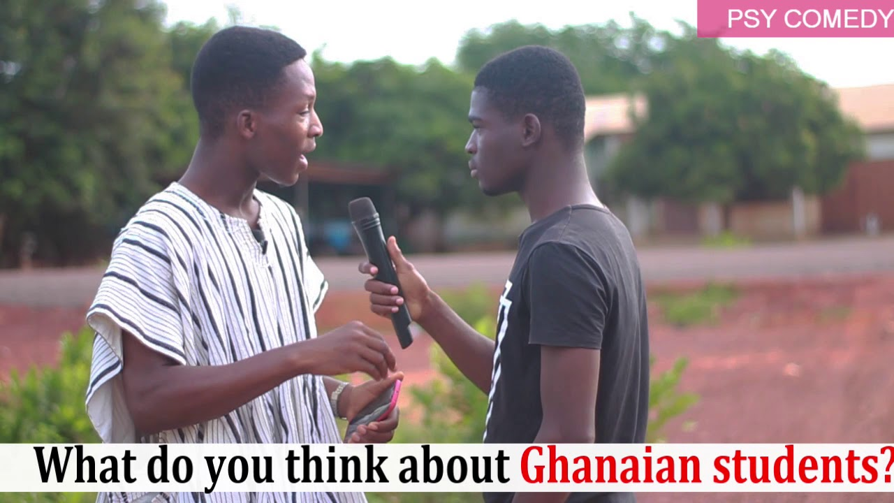 Download What do you think about Ghanaian students?// Psy Comedy