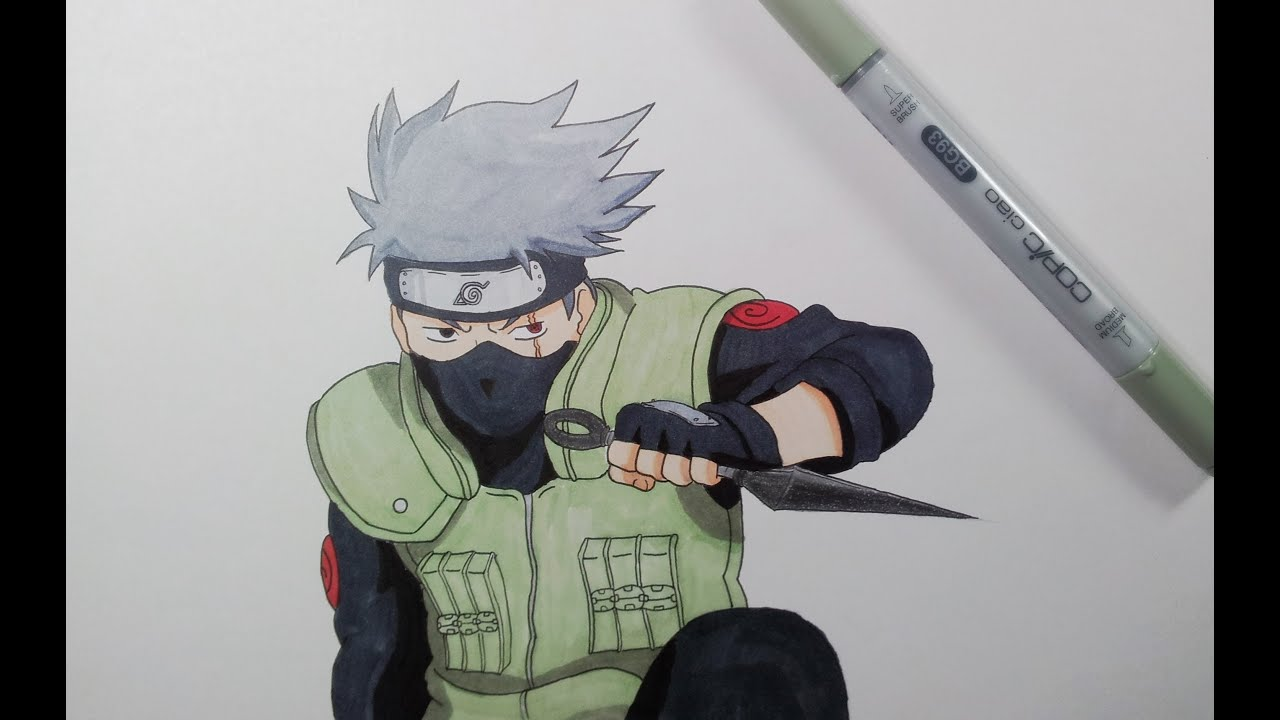 drawing kakashi hatake youtube