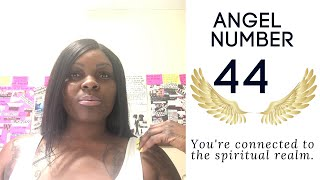 Angel Number 44:: You're Connected To The Spiritual Realm.