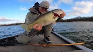 Winter Livescope Bass Fishing Konawa Jackpot