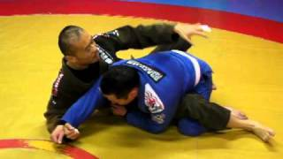Sweep from Closed Guard with cross grip (2011-03-09)