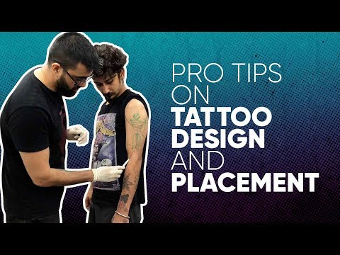 Pro Tips - Tattoo Design, Placement, Sizing - Recorded Live Session - Aliens Tattoo School