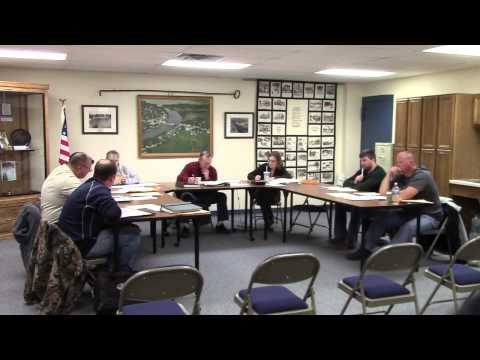 Village of Fremont Board Meeting 12-09-14