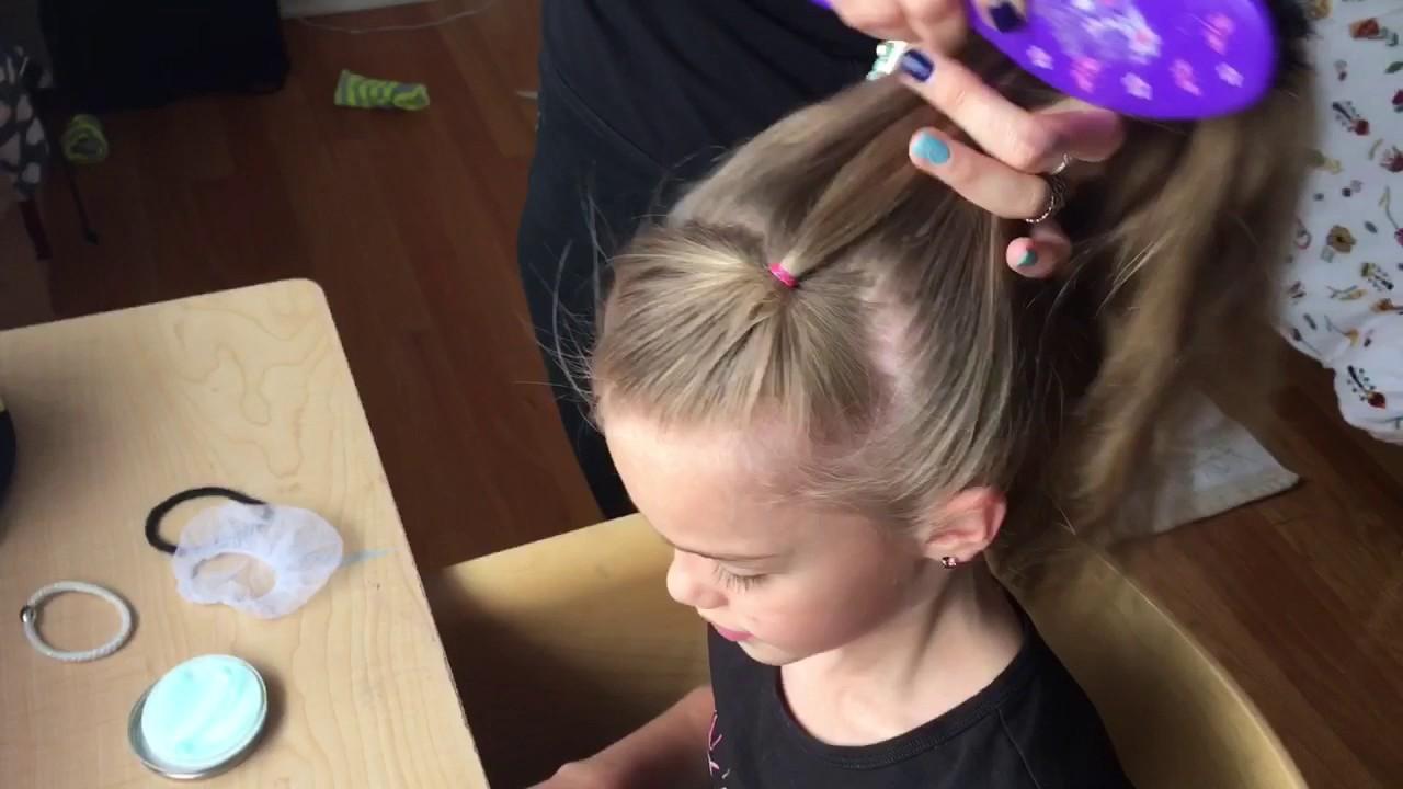 rhythmic gymnastics bun