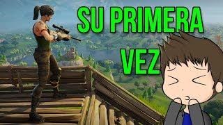 LA PRIMERA VEZ DE FLORE EN FORTNITE | Fortnite en español