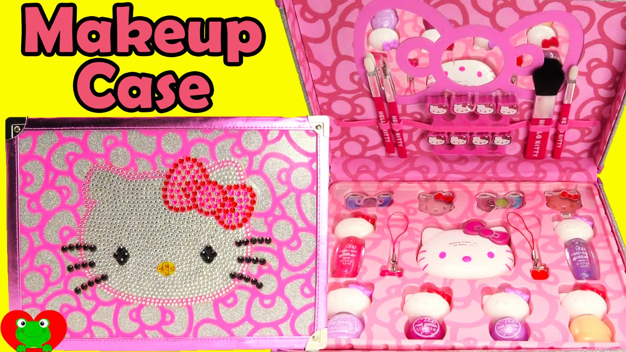 Fashion week Kitty hello makeup set for kids for woman