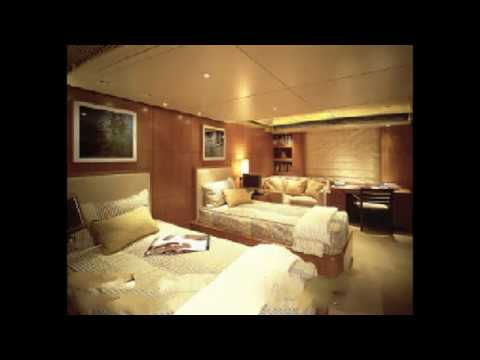 Billionaire Paul allen's megayacht octopus  rare interior & exterior photos
