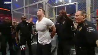 WWE hell in a cell  me hue is accident ko dekh kr public k bhi Josh UDD gye