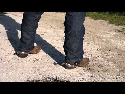 Justin Boots and Levis 501 jeans