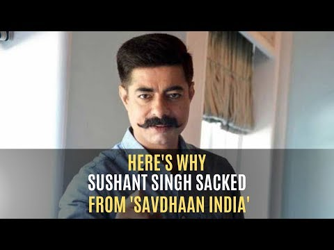 Star Bharat Issues Statement Over Sushant Singh's Exit From Savdhaan India   TV   SpotboyE