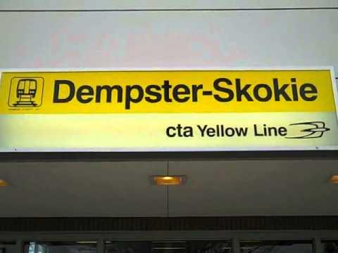 Transit Chicago - Yellow Line train (Skokie Swift) - Monday 12-31-12 - John V. Karavitis