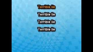 Nine Inch Nails - Terrible Lie [Karaoke]