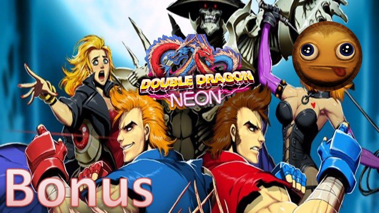 Double Dragon Neon Bonus Secrets Unlockables Youtube