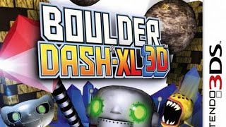 Boulder Dash XL Gameplay (Nintendo 3DS) [60 FPS] [1080p]