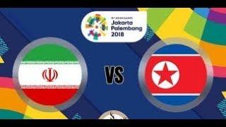 Live streaming Iran VS Korea Utara (3-0) Asian Games 2018