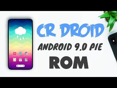 CrDroid 9 0 Android Pie Custom Rom Review - YouTube