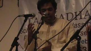 Taalsadhana presents Samarth Nagarkar - Raag Kamod  and Anil Khare on Tabla