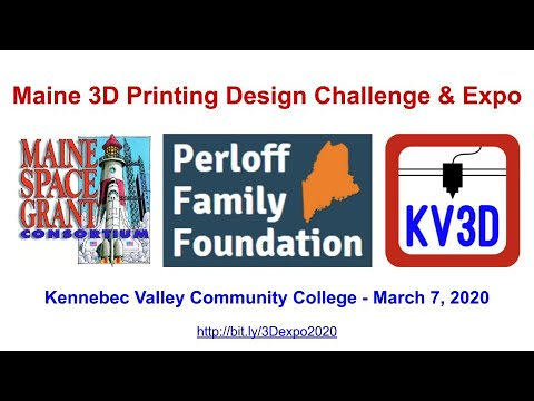 2. 3D Printing at Kennebec Valley Community College