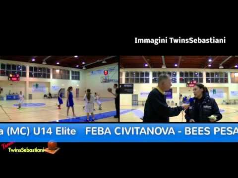 Coach Laura FABBRI - Bees Pesaro 21/11/2015 U14 Elite Femminile