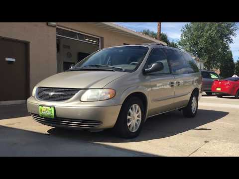 2002 Chrysler Town And Country Van