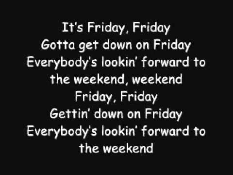 friday lyrics