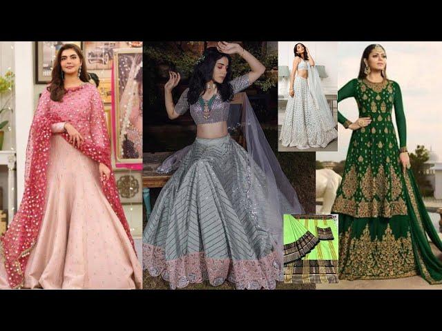 Designer Lehenga Choli / Salwar Kameez / Gowns / Saree Collections l Online Shopping review #ethnic