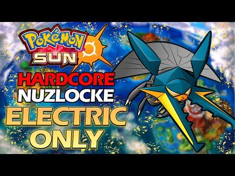 Download Pokemon Sun Hardcore Nuzlocke Electric Types Only