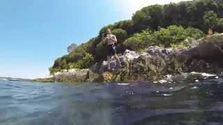24-07-2013 Camping puntica croatia snorkeling 18