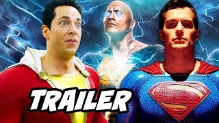 Shazam Trailer - Justice League Easter Eggs and Jokes Breakdown