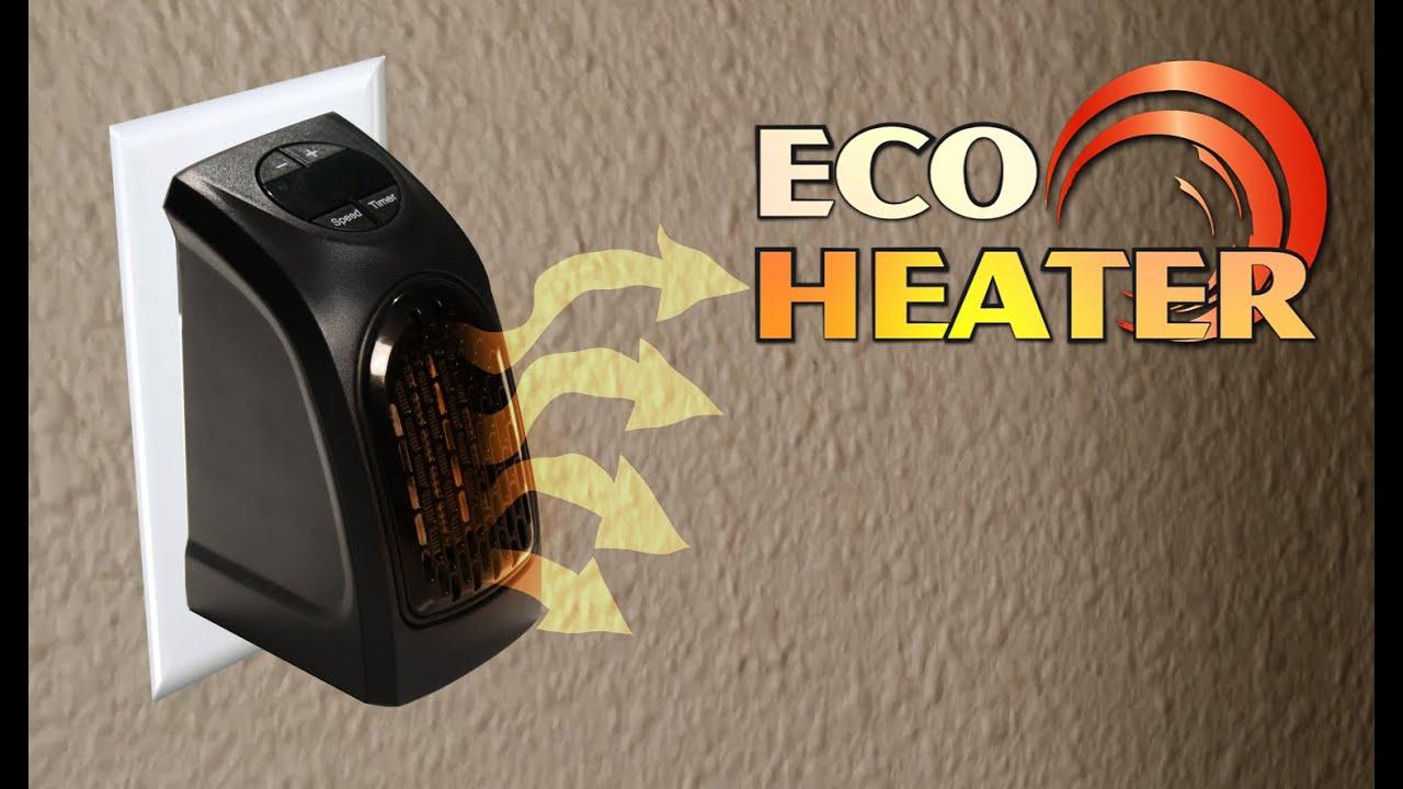Eco Heater La Stufetta Elettrica Portatile A Basso Consumo