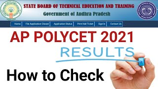 AP Polycet 2021 Results Today | How to Check AP Polycet 2021 Results Online