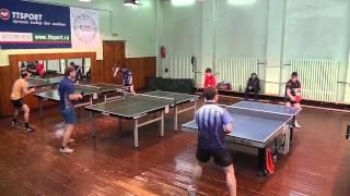 настольный теннис Лига СПб видео_01  24.03.12
