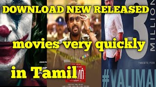 How to download Tamil new released movie from TamilRockers in Tamil