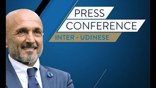 Live Luciano Spallettis press conference ahead of Inter vs. Udinese HD SUBS